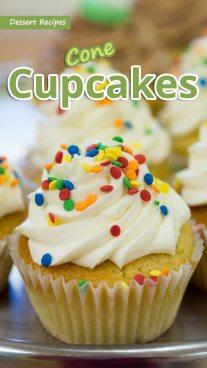 Cone Cupcakes