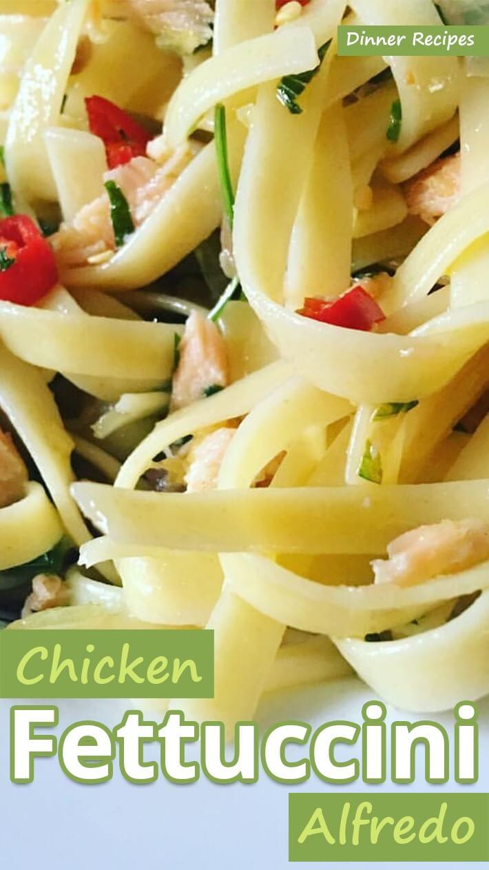 Chicken Fettuccini Alfredo