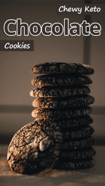 Chewy Keto Chocolate Cookies