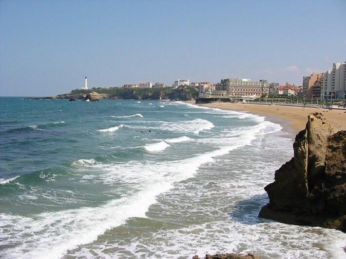 Grand Plage Beach, Biarritz