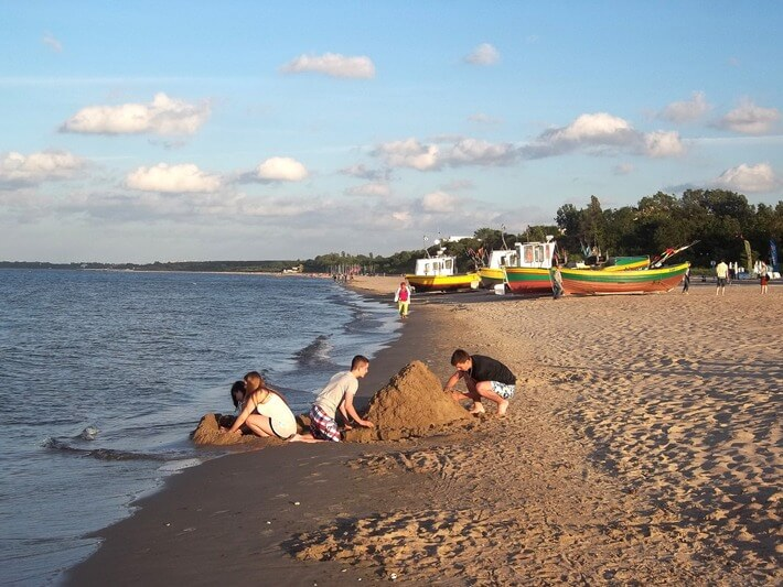 Sopot Beach, Poland