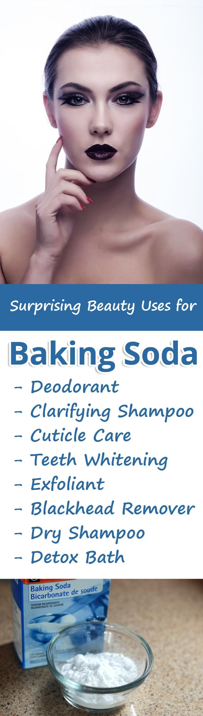 Surprising Beauty Uses for Baking Soda