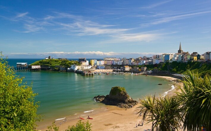 Tenby Harbour Beach, United Kingdom