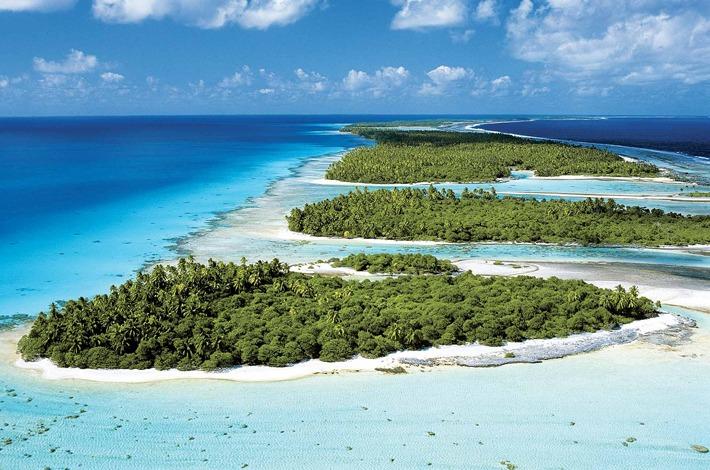 Motu Islets in Tahiti