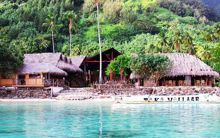 Tiki Theater Village