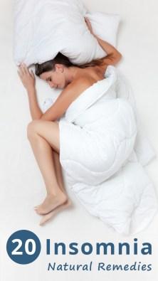 20 Insomnia Natural Remedies