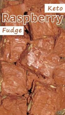 Keto Raspberry Fudge
