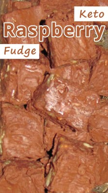 Keto Raspberry Fudge