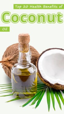 Top 20 Health Benefits of Coconut Oil