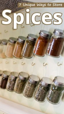 7 Unique Ways to Store Spices