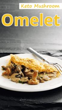 Keto Mushroom Omelet