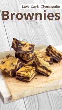 Low Carb Cheesecake Brownies