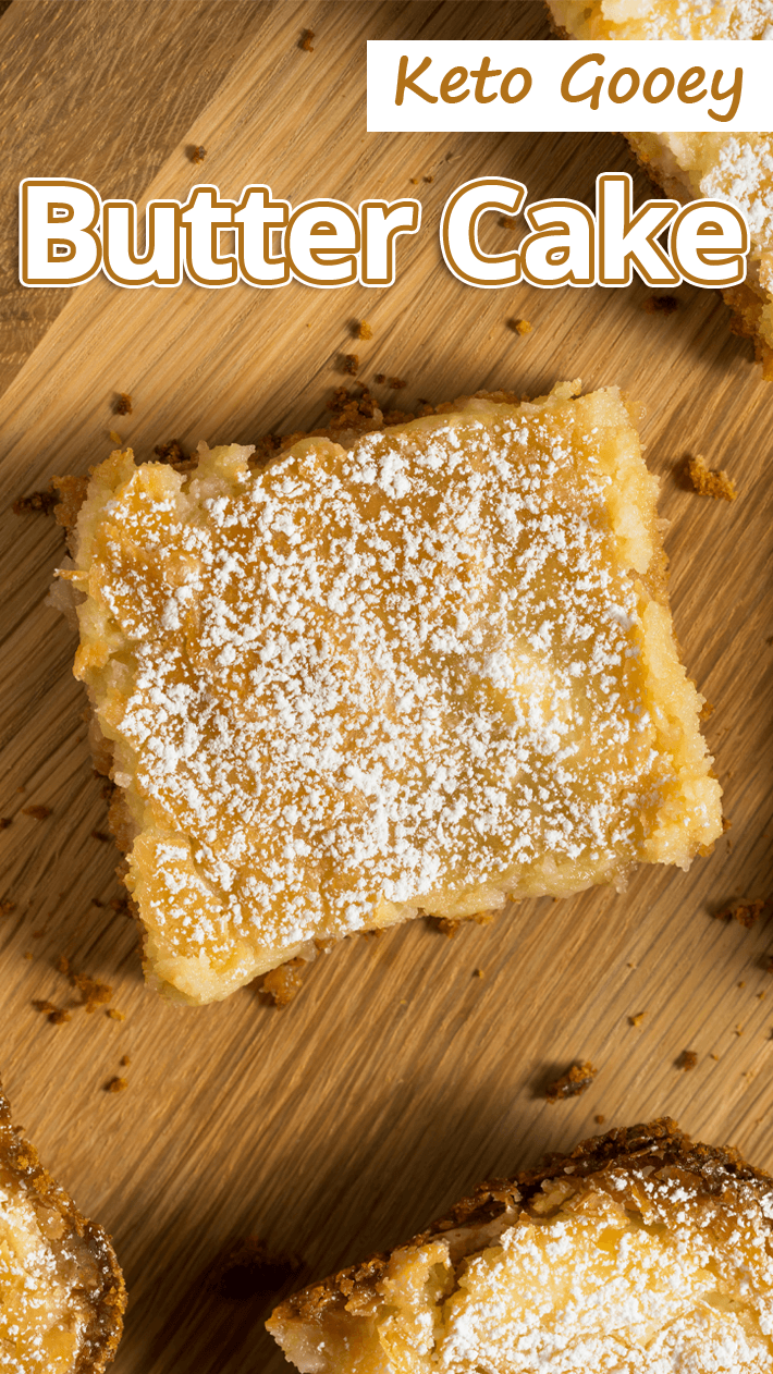 Keto Gooey Butter Cake Featured Image