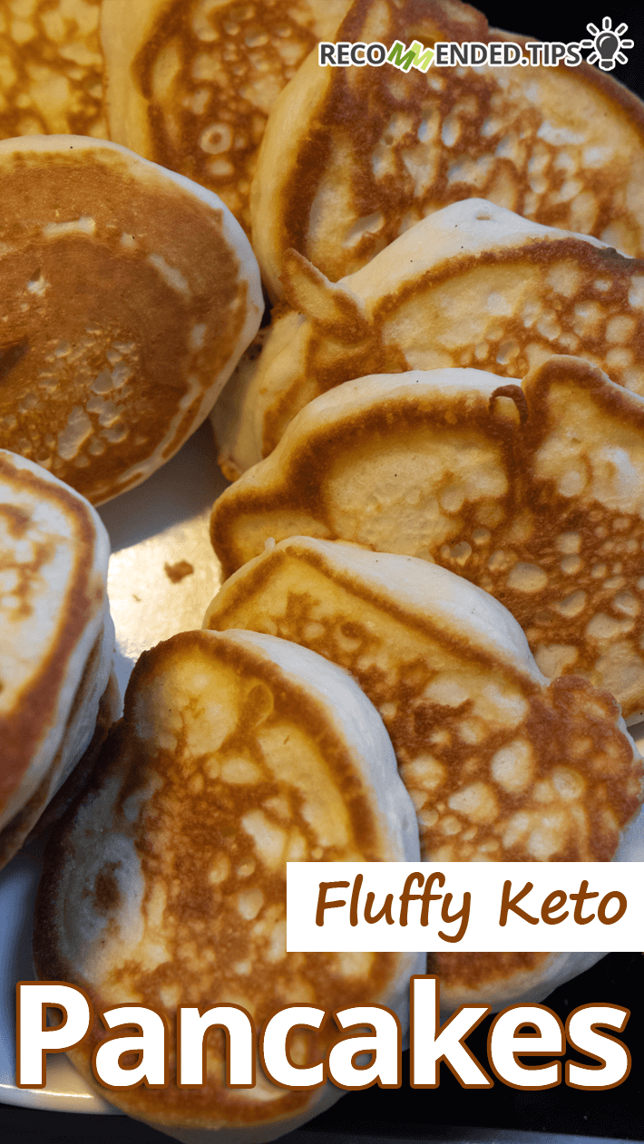 Fluffy Keto Pancakes Featured Image