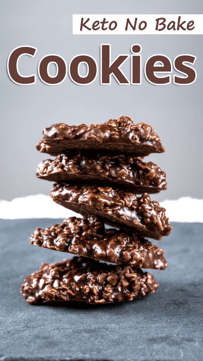 Keto No Bake Cookies Featured Image