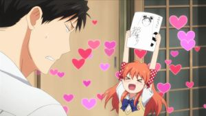 Monthly Girls' Nozaki-kun anime