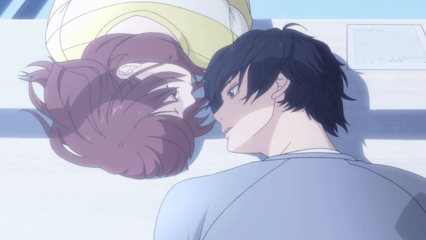 blue spring ride anime