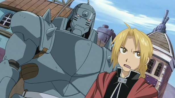 fullmetal alchemist brotherhood anime