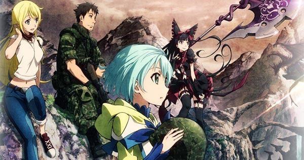 For Fans Of Fantasy Harems Gate Anime