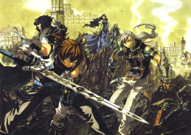 chrome shelled regios anime
