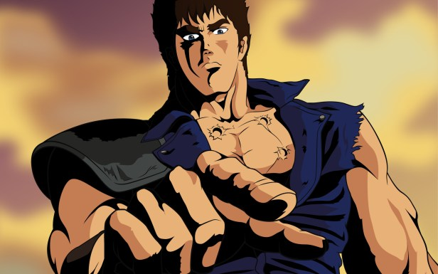 fist of the north star anime world