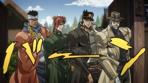 jojos bizarre adventure anime