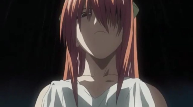 Lucy from Elfen Lied Yandere Anime Girl