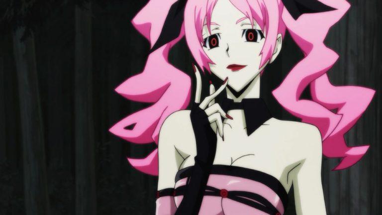 Megumi Shimizu from Shiki Yandere anime girl
