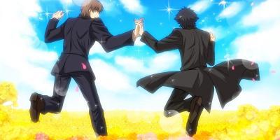 anime bromance