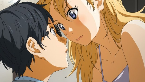 your lie in april romance anime