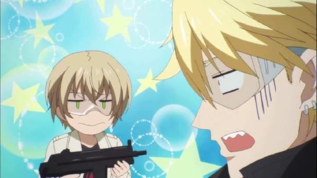 Aoharu x Machine Gun anime