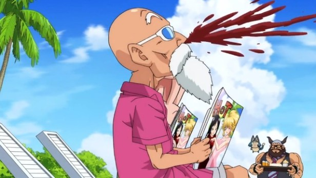 Muten Roshi from Dragon Ball