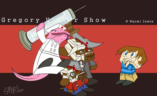 gregory horror show anime