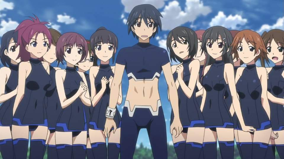 14 Anime Series Where A Boy Goes To An All-Girls School  Recommend Me Anime-5763
