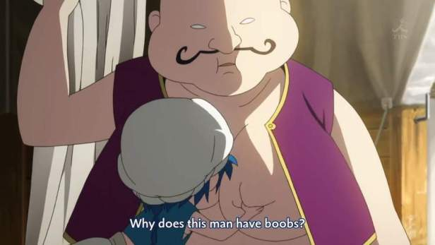 magi man boobs
