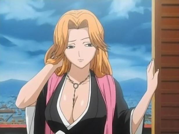rangiku anime boobs