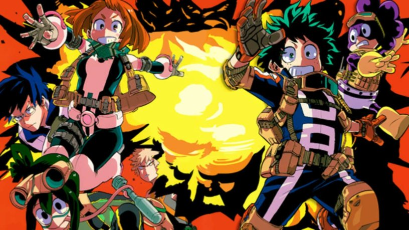 anime series like my hero academia