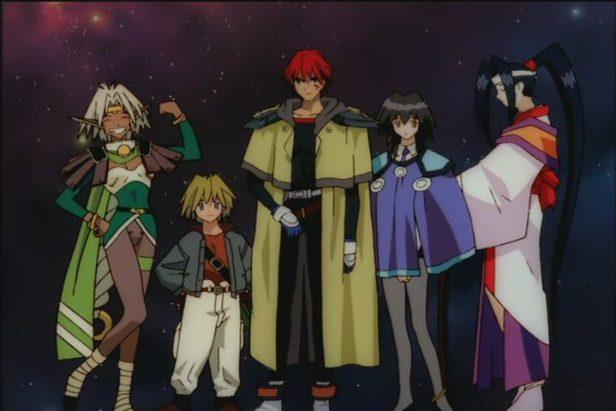 outlaw star anime