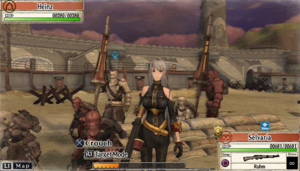 valkyria chronicles game