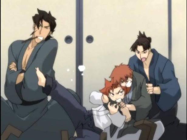 Peacemaker Kurogane anime