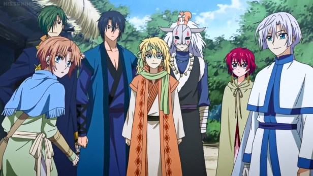 The Dragon Warriors from Yona of the Dawn