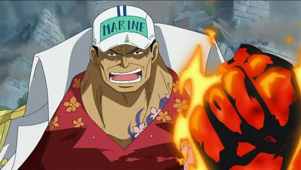 akainu from one piece