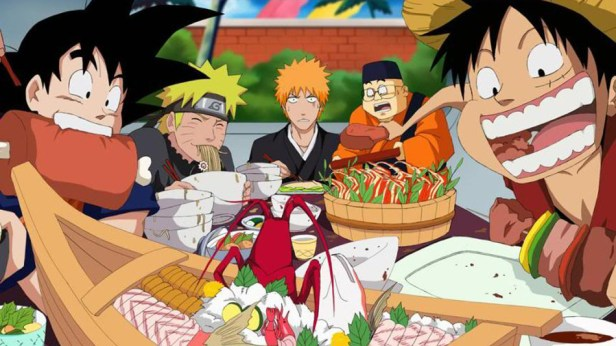 anime eat off