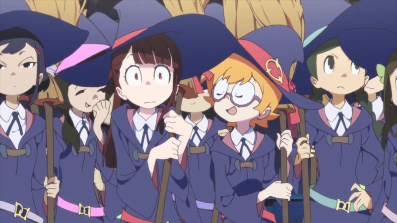 anime like little witch academia