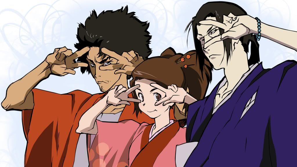 Melhores Animes de Samurai