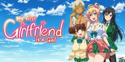 anime like my first girlfriend is a gal