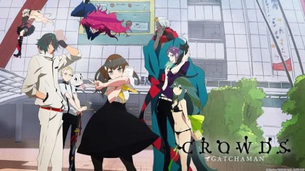 gatchaman crowds anime
