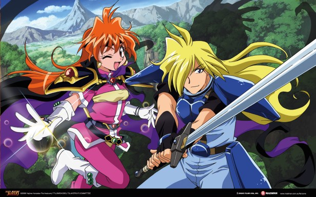 Though Well Aged Now Slayer Is Iconic In The Fantasy Genre Although It A Comedy Follows Mage Lina Inverse And Her Group That Travels Around