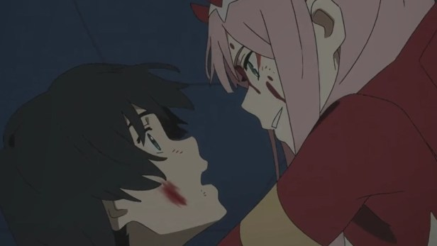 anime series like darling in the franxx