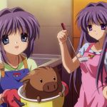 Ryou and Kyou from Clannad